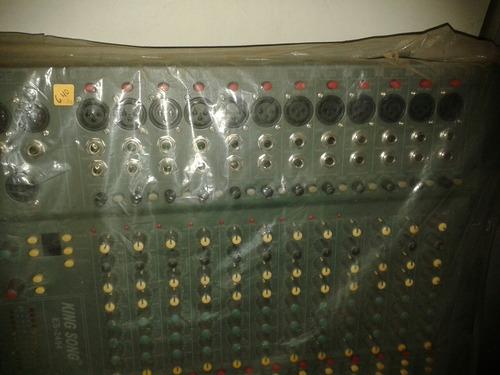 consola de 34 canales king song es-2404
