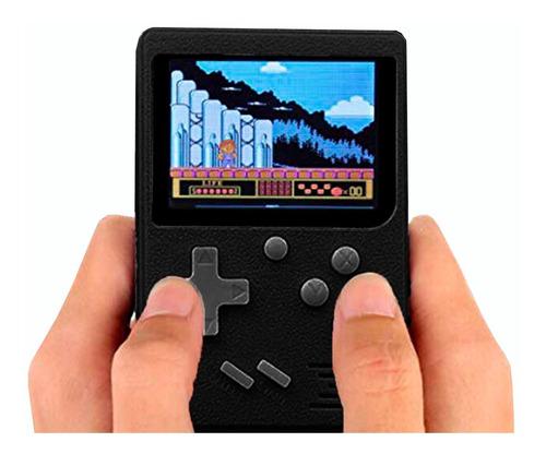 consola de 400 juegos clasicos a color c/ forma de game boy