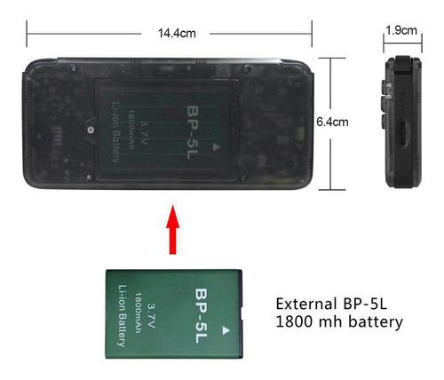 consola de juego manual q9 portátil máquina de música