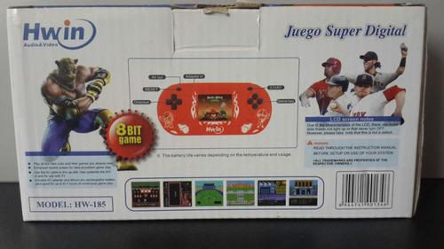 consola de juegos portatil hwin 500 juegos