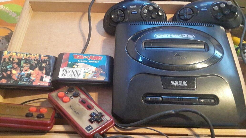 Consola De Juegos Sega Y Family Game 1 350 00 En Mercado Libre