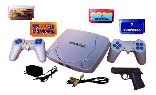 consola de nintendo video juego game 8 bit