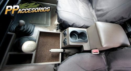 consola de piso machito completa con doble conector 12volt