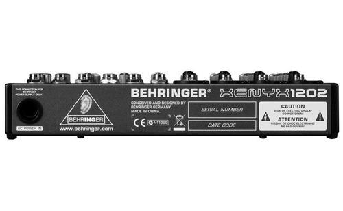 consola de sonido behringer xenyx 1202 8 canales