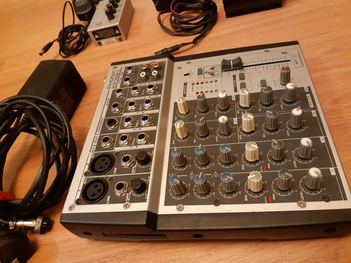consola de sonido phonic mm 1002
