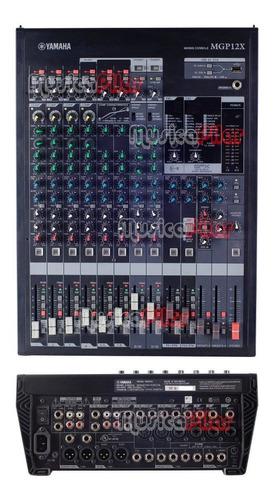 consola de sonido yamaha 122 canales mgp12x musica pilar
