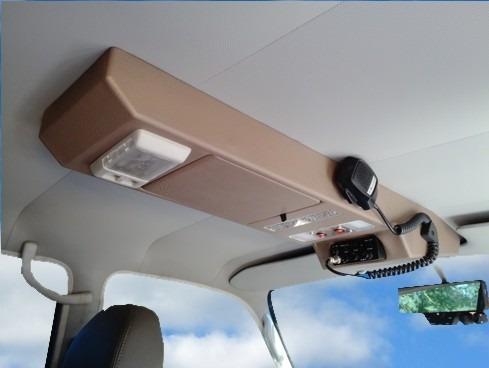 cónsola de techo para autana pittman4x4