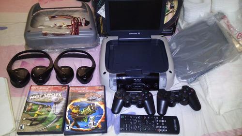 consola de video juego para vehiculos ps2