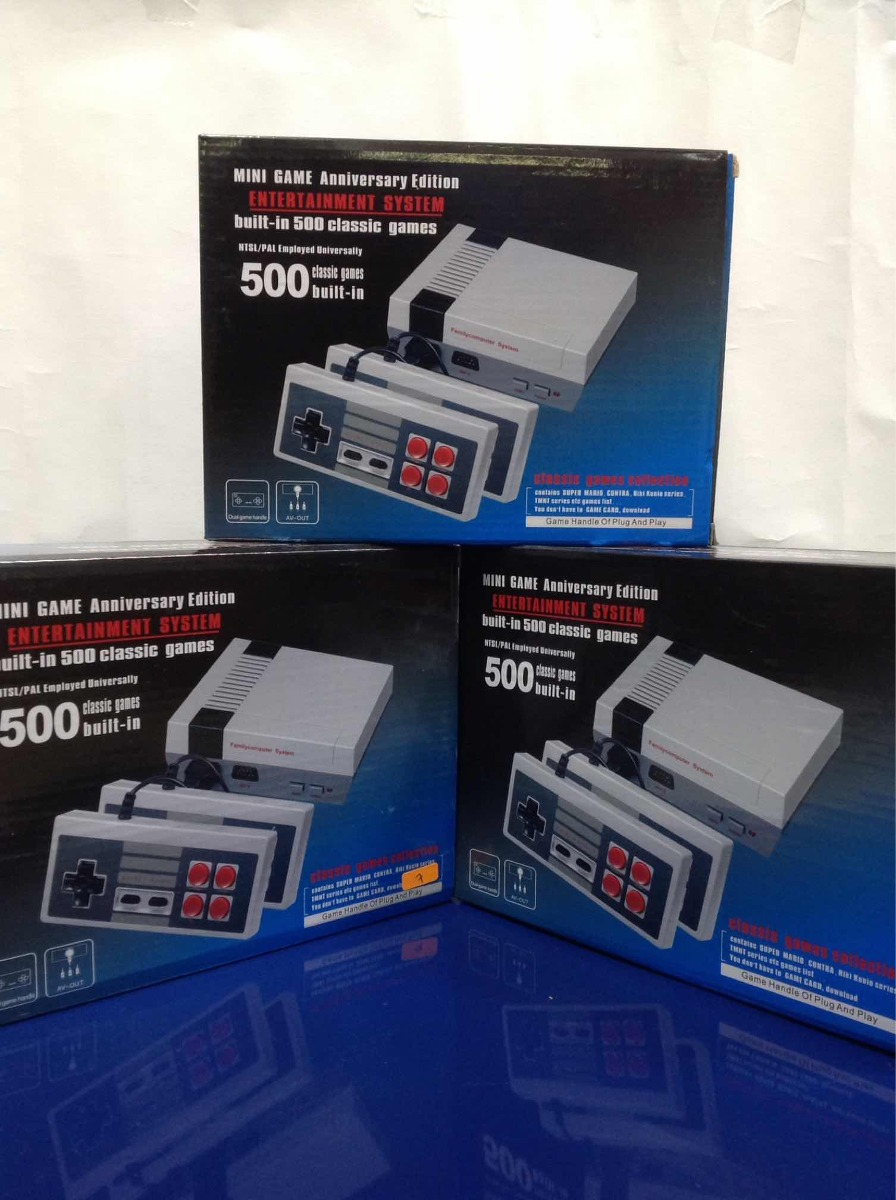 Consola De Video Juegos Nintendo Nes 999 00 En Mercado Libre
