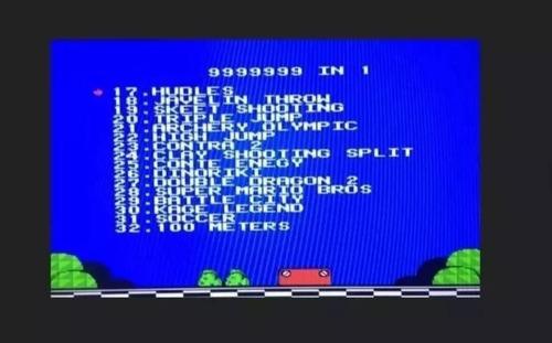 consola de videojuegos 48 juegos de nes surtidos - t1096