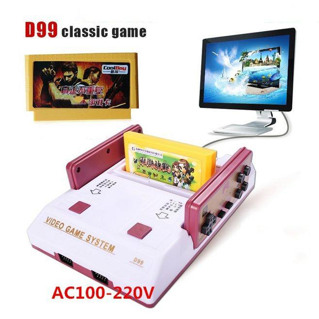 Consola De Videojuegos 8 Bit D99 Family Pal Formato 405 33 En