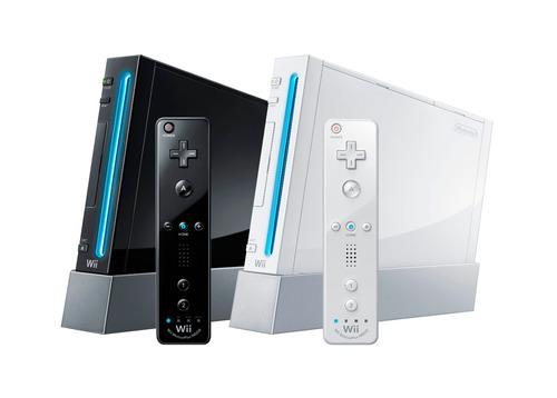 consola de videojuegos nintendo wii + nunchuk blanco