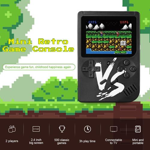 consola de videojuegos retro q3 vs portátil c/pantalla lcd