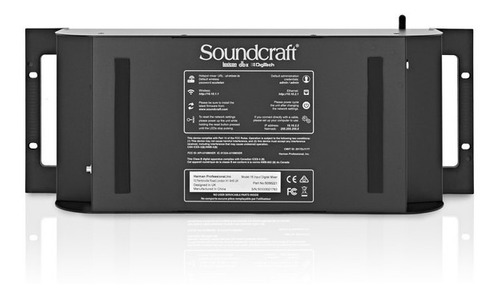 consola digital soundcraft de 16 canales tipo rack
