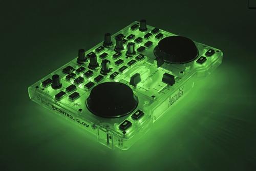 consola dj hercules glow mixer dj audio mp3 controladora
