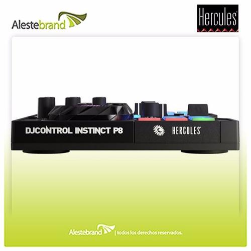 consola dj hércules instinct p8