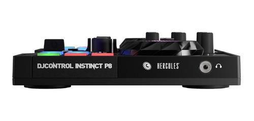consola dj hercules instinct p8 escucha previa controladora