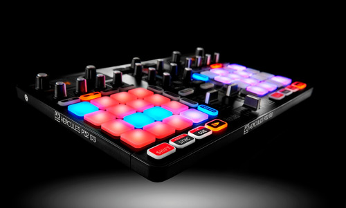 consola dj hercules p32 controladora mixer deck dual audio