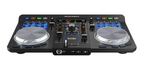 consola dj hercules universal controlador pc mac bluetooth
