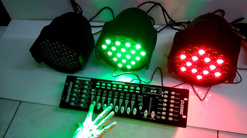 consola dmx 512 luces para uso profesional 16 canales