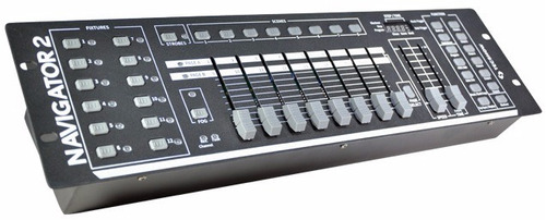 consola dmx tecshow navigator 2 192 canales controlador