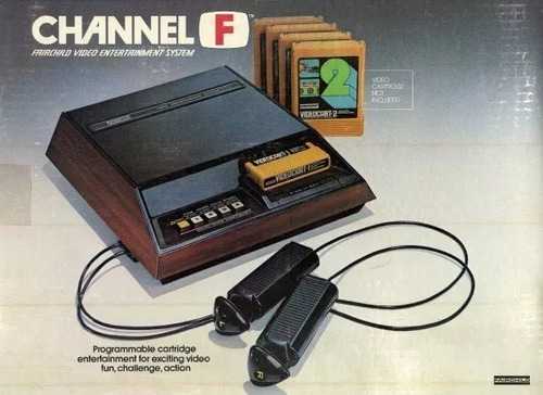 consola fairchild channel f - en caja - retro no atari msx