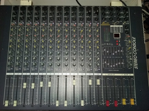 consola gbr mix 12 canales