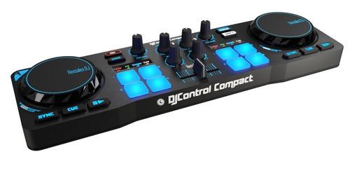 consola hercules compact controlador dj mixer envio gratis