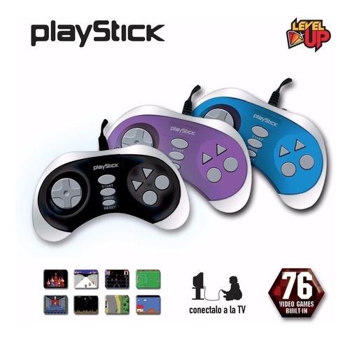 consola joystick family game playstick 76 juegos 8 bit
