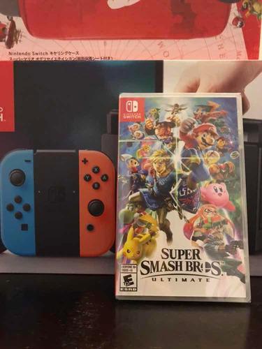 consola juego nintendo switch