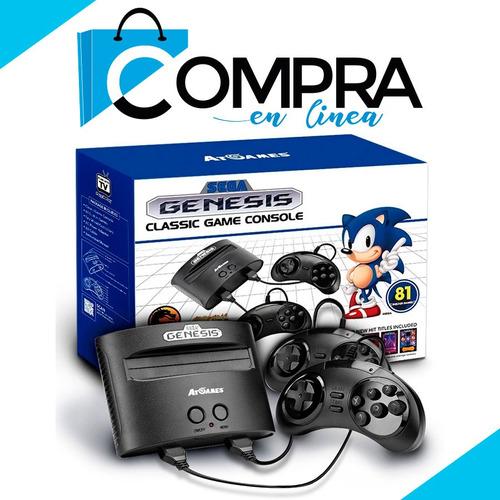 consola juego sega genesis classic nuevo original + juegos