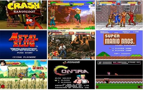 consola klll portatil 3000 juegos retro, emulador, salida tv