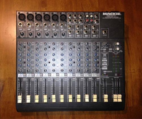 consola mackie mixer de 14 canales