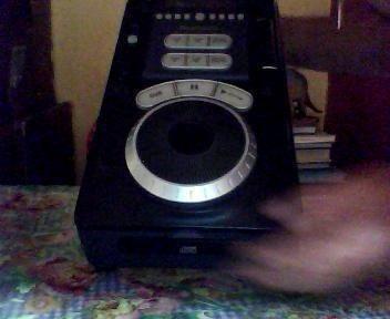consola   mezclador    de  cd  numark  perfecta  original