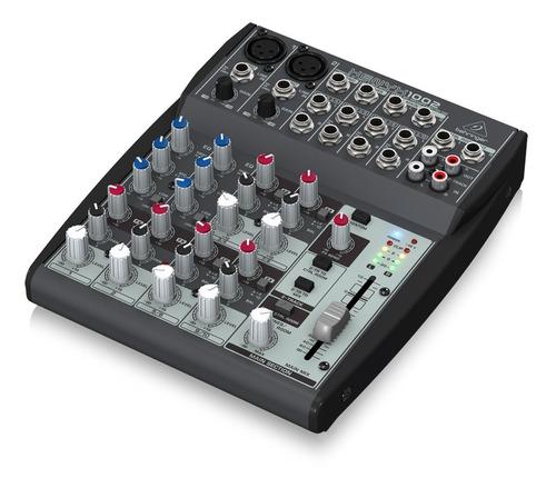 consola mezcladora behringer xenyx 1002 10 canales