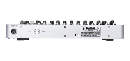 consola mezcladora de sonido profesional de 7 canales