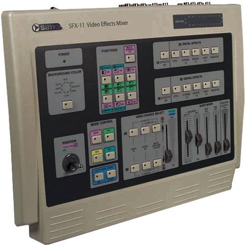 consola mezcladora de video y efectos especiales sima sfx-9