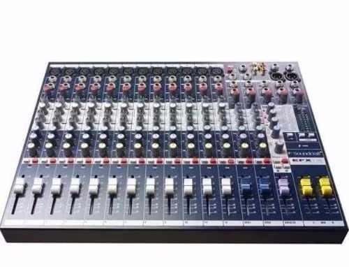 consola mezcladora soundcraft efx12 efecto