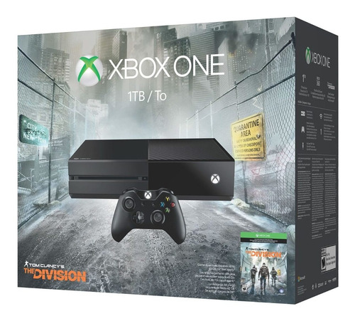 consola microsoft xbox one 1tb + tom clancy´s the division