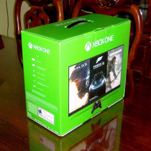 consola microsoft xbox one 500 gb + battlefield 1 sellada