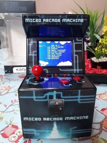consola mini arcade retro kanji 200 juegos 8bit mdp portatil