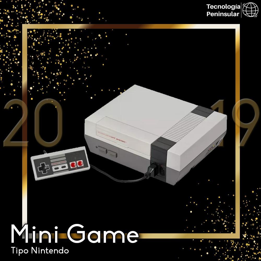 Consola Mini Game 620 Juegos Clasicos Tipo Nintendo Nes Gris