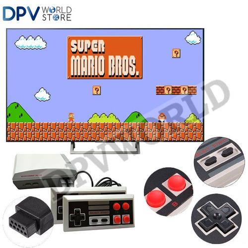 consola mini nes classic edition 620 juegos mario