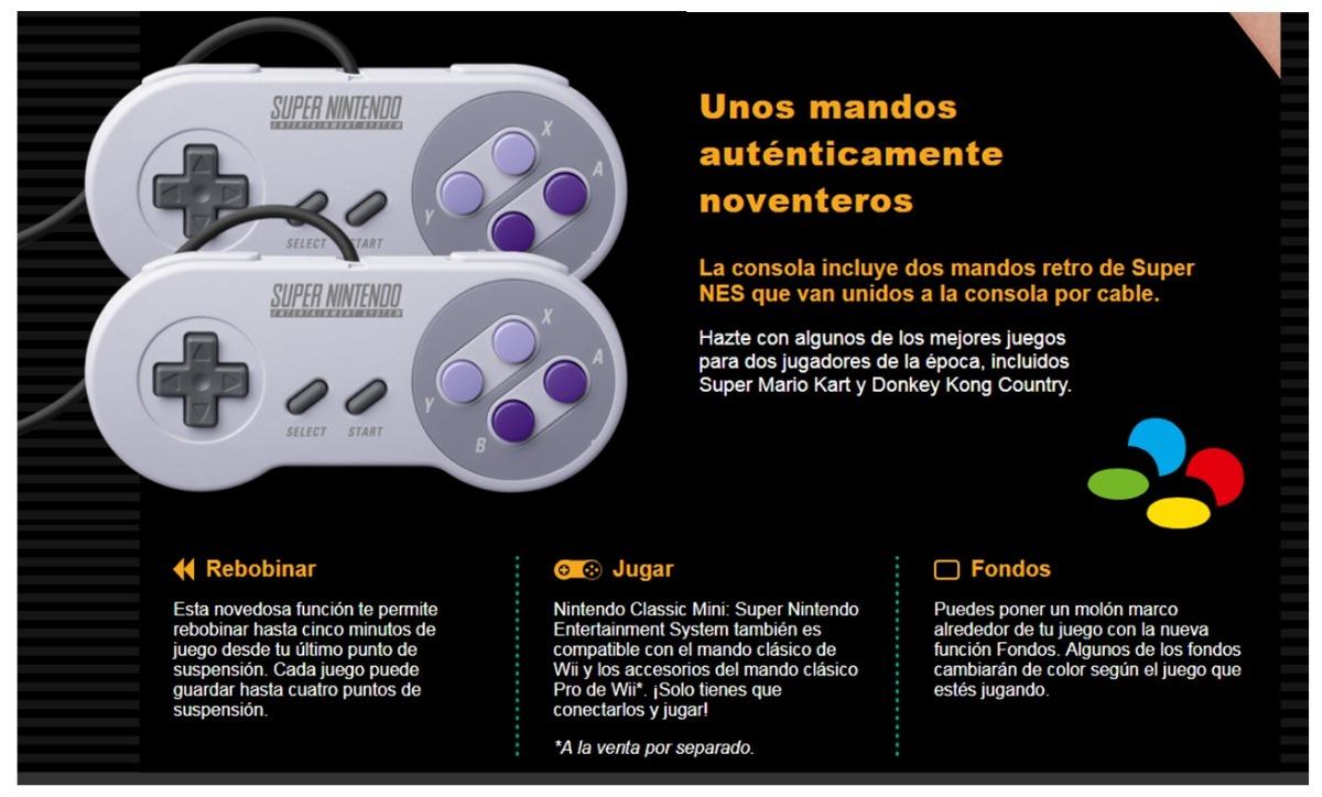 Consola Mini Super Nintendo Classic Edition Snes 21 Juegos