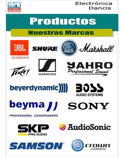 consola mixer 12 canales ecco 16 efec mic  con bluetooth