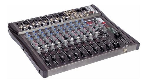 consola mixer 12 canales sxm512 16 efectos by dancis
