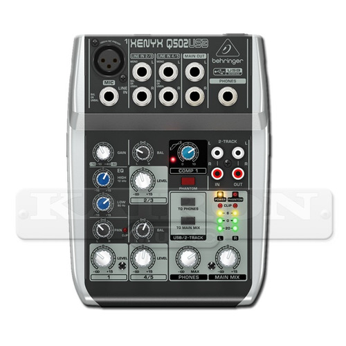 consola mixer behringer xenyx q502 usb