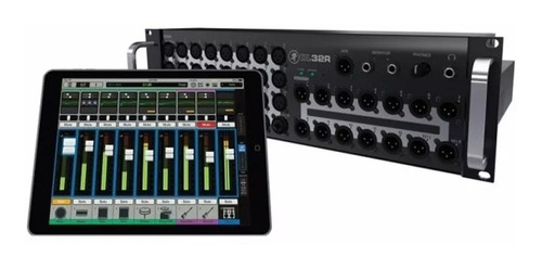 consola mixer digital mackie dl32r 32in/14out ipad control