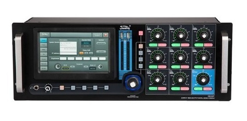 consola mixer digital rack soundking 20 canales ipad cuota