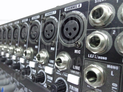 consola mixer moon mc12usb 12canales-usb-sd-efecto-grabacion